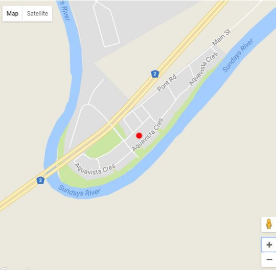 Map Addo Gateway Lodge in Colchester  Cacadu (Sarah Baartman)  Eastern Cape  South Africa