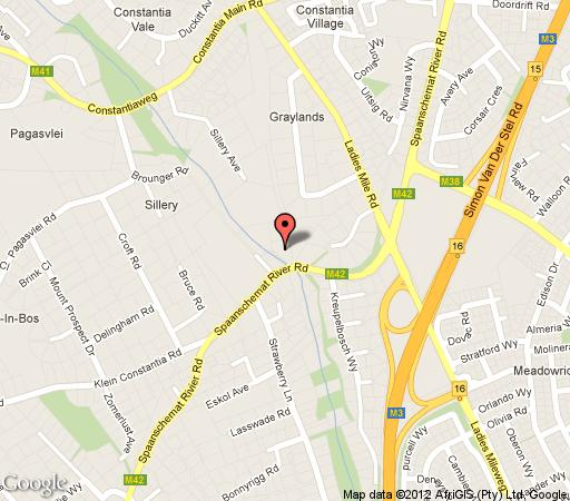 Map The Last Word Constantia in Constantia (CPT)  Southern Suburbs (CPT)  Cape Town  Western Cape  South Africa