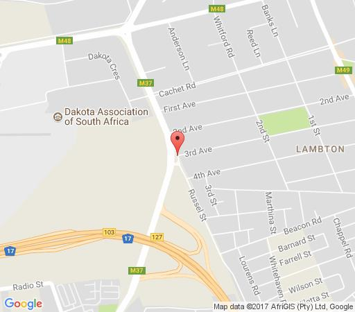 Map African Elephant Guest House  in Germiston  Ekurhuleni (East Rand)  Gauteng  Afrique du Sud
