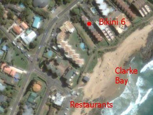 Map Bikini 6 in Ballito  North Coast (KZN)  KwaZulu Natal  South Africa