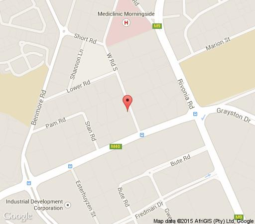 Map 254 West Rd South in Morningside (JHB)  Sandton  Johannesburg  Gauteng  South Africa