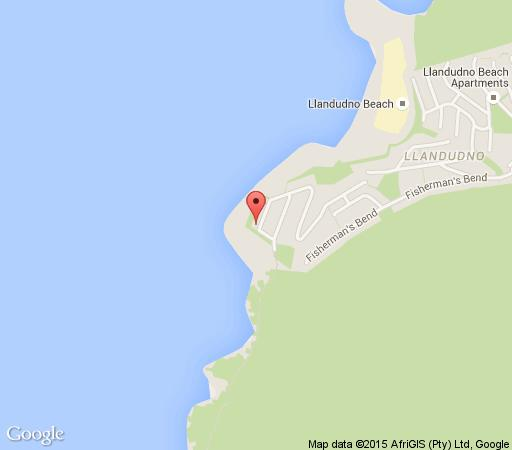 Map Sunkissed Beach Villa in Llandudno  Atlantic Seaboard  Cape Town  Western Cape  South Africa