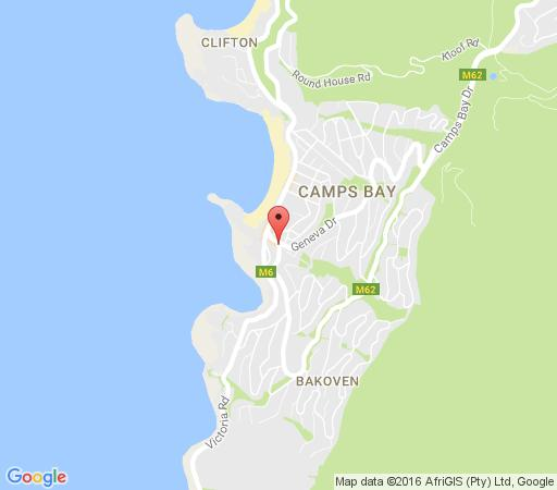 Map 10 Brighton Court in Camps Bay  Atlantic Seaboard  Cape Town  Western Cape  South Africa