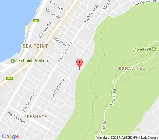 Map Armia in Sea Point  Atlantic Seaboard  Cape Town  Western Cape  South Africa