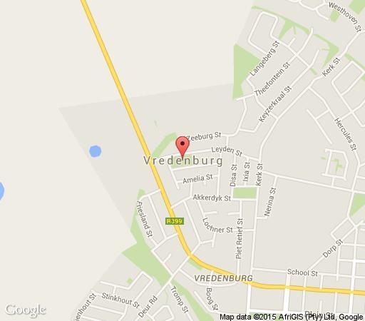 Map Klokkiebosch Guesthouse in Jacobsbaai  West Coast (WC)  Western Cape  South Africa