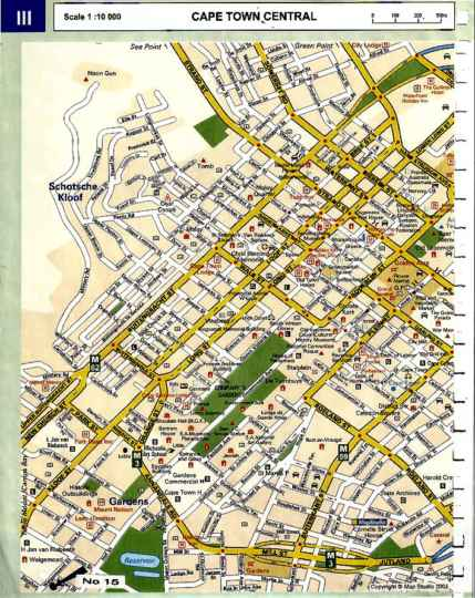 Map 15 Welgemeend Street in Gardens  City Bowl  Cape Town  Western Cape  South Africa