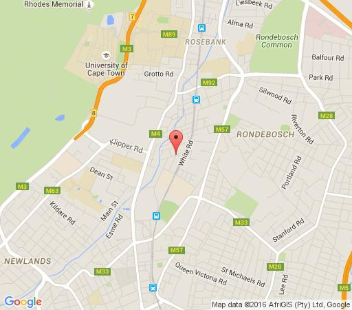 Map Bradclin Sport  in Newlands (CPT)  Southern Suburbs (CPT)  Cape Town  Western Cape  South Africa