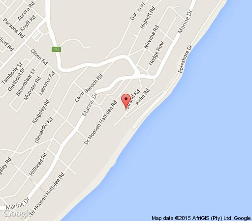 Map 69 Strand in Brighton Beach  Durban  Durban and Surrounds  KwaZulu Natal  South Africa