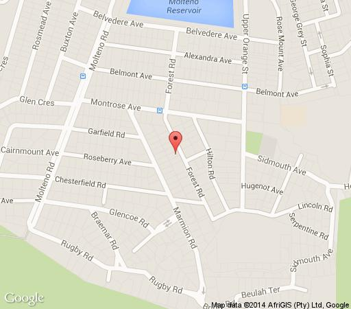 Map Atforest in Oranjezicht  City Bowl  Cape Town  Western Cape  South Africa
