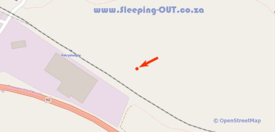 Map Kunguru Lodge (Tri Active Lodge) in Grabouw  Overberg  Western Cape  South Africa