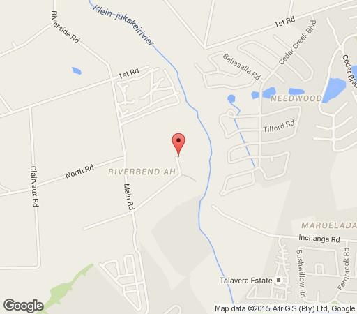 Map Riverbend Country House in Fourways  Sandton  Johannesburg  Gauteng  South Africa