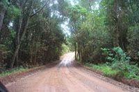 Map Protea Wilds Retreat in Knysna  Garden Route  Western Cape  Zuid-Afrika