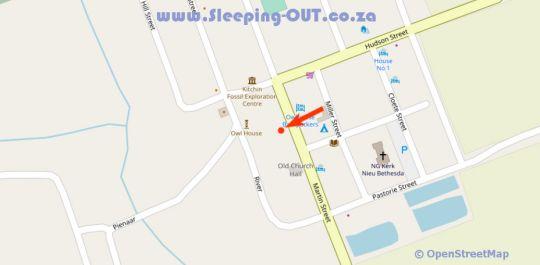 Map Outsiders  in Nieu Bethesda  Cacadu (Sarah Baartman)  Eastern Cape  South Africa