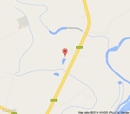 Map Winterton Country Lodge in Winterton  Central Drakensberg  Drakensberg (KZN)  KwaZulu Natal  South Africa