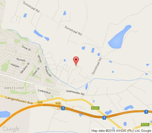 Map Palmiet Valley Estate in Paarl  Cape Winelands  Western Cape  South Africa