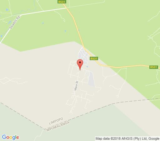 Map LittleBush Private Lodge in Hoedspruit  Valley of the Olifants  Limpopo  South Africa