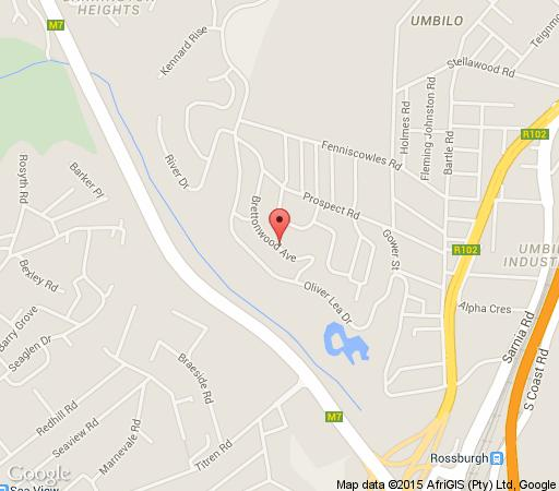 Map The Troll and Tulip in Umbilo  Durban  Durban and Surrounds  KwaZulu Natal  South Africa