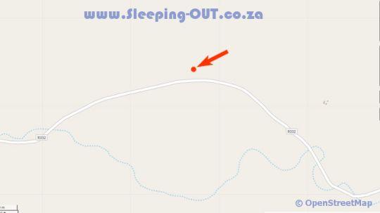 Map Bo-Kloof Guest Farm in Baviaanskloof  Cacadu (Sarah Baartman)  Eastern Cape  South Africa