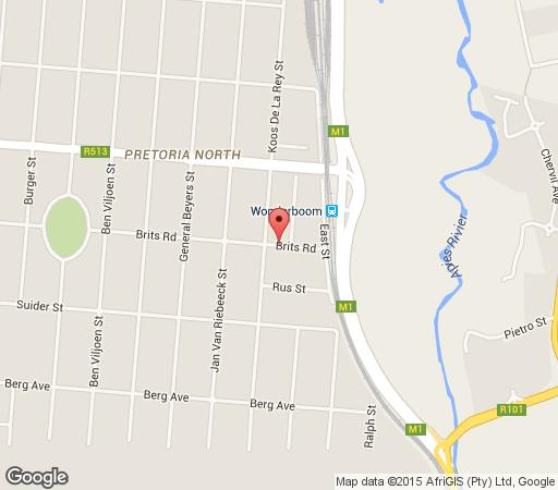 Map A Knights Rest in Theresa Park  Pretoria North  Pretoria / Tshwane  Gauteng  South Africa