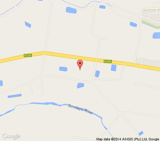 Map Lemon3Lodge in Kirkwood  Cacadu (Sarah Baartman)  Eastern Cape  South Africa