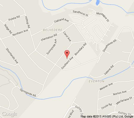 Map Rivendell Bed and Breakfast in Hillcrest  Western Suburbs (DBN)  Durban and Surrounds  KwaZulu Natal  South Africa