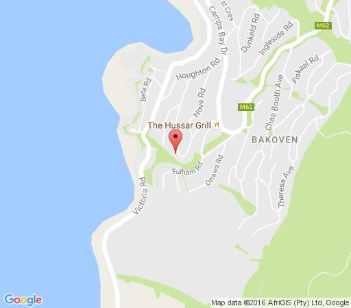 Map Campsbayglen in Camps Bay  Atlantic Seaboard  Cape Town  Western Cape  South Africa