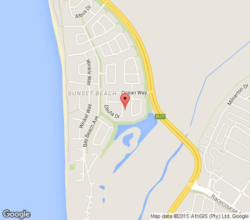 Map Bhabhathane Luxury Apartment in Sunset Beach  Blaauwberg  Cape Town  Western Cape  South Africa