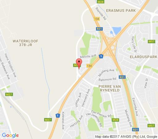 Map Accommodation @ Van\'s in Irene  Centurion  Pretoria / Tshwane  Gauteng  Südafrika
