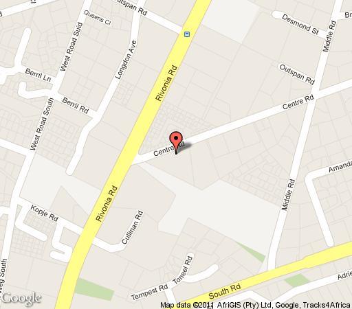 Map Duo Via Centrale in Morningside (JHB)  Sandton  Johannesburg  Gauteng  South Africa