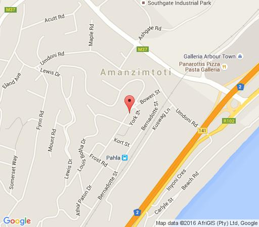 Map Africa\'s Beaded Bird  in Amanzimtoti  South Coast (KZN)  KwaZulu Natal  South Africa