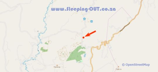 Map Kuhestan Farm Cottages in Magoebaskloof  Valley of the Olifants  Limpopo  South Africa