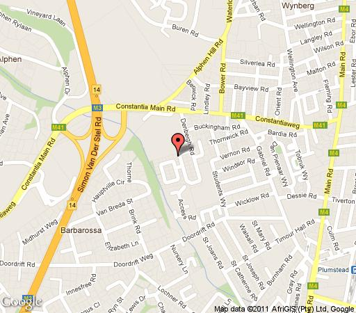 Map The Meadows in Constantia (CPT)  Southern Suburbs (CPT)  Cape Town  Western Cape  South Africa