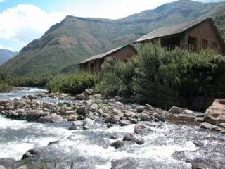 Picture Maliba River Lodge (Selfcatering) in Tsehlanyane National Park  Lesotho