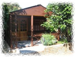 Log Cabin in Garden Room Thumbnail Pic 1