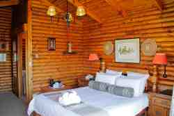 Twin Room Swiss Village Log Cabin Room Thumbnail Pic 1
