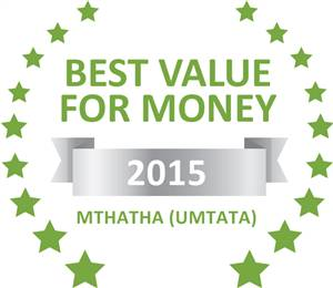 Sleeping-OUT's Guest Satisfaction Award. Based on reviews of establishments in Mthatha (Umtata), Number 52 Blakeway has been voted Best Value for Money in Mthatha (Umtata) for 2015