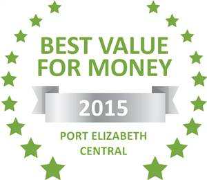 Sleeping-OUT's Guest Satisfaction Award. Based on reviews of establishments in Port Elizabeth Central, Lily Pond Backpackers has been voted Best Value for Money in Port Elizabeth Central for 2015