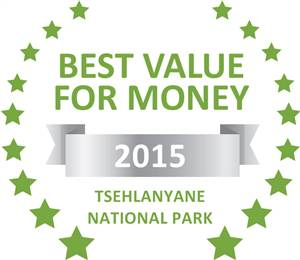 Sleeping-OUT's Guest Satisfaction Award. Based on reviews of establishments in Tsehlanyane National Park , Maliba River Lodge (Selfcatering) has been voted Best Value for Money in Tsehlanyane National Park  for 2015