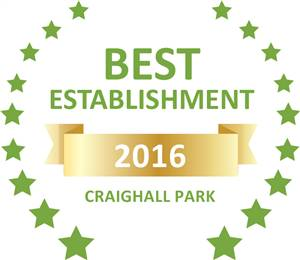 Sleeping-OUT's Guest Satisfaction Award. Based on reviews of establishments in Craighall Park, Waterfall Cottages has been voted Best Establishment in Craighall Park for 2016