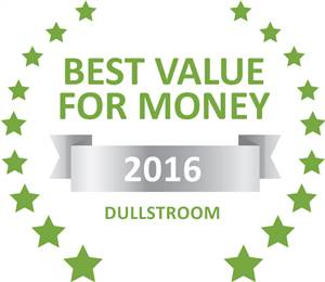 Sleeping-OUT's Guest Satisfaction Award. Based on reviews of establishments in Dullstroom, KlipHuisjes has been voted Best Value for Money in Dullstroom for 2016