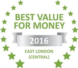 Sleeping-OUT's Guest Satisfaction Award. Based on reviews of establishments in East London (Central), Mackenzies Accommodation has been voted Best Value for Money in East London (Central) for 2016