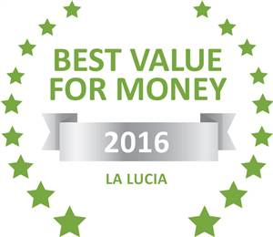 Sleeping-OUT's Guest Satisfaction Award. Based on reviews of establishments in La Lucia, Bonjour B&B has been voted Best Value for Money in La Lucia for 2016