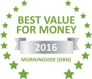 Sleeping-OUT's Guest Satisfaction Award. Based on reviews of establishments in Morningside (DBN), Lindsay Avenue Guest House has been voted Best Value for Money in Morningside (DBN) for 2016