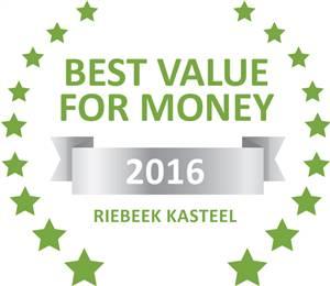 Sleeping-OUT's Guest Satisfaction Award. Based on reviews of establishments in Riebeek Kasteel,  KATARINAS has been voted Best Value for Money in Riebeek Kasteel for 2016