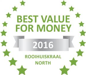 Sleeping-OUT's Guest Satisfaction Award. Based on reviews of establishments in Rooihuiskraal North, 4 You Self-Catering Accommodation has been voted Best Value for Money in Rooihuiskraal North for 2016