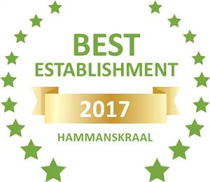 Sleeping-OUT's Guest Satisfaction Award. Based on reviews of establishments in Hammanskraal, Thorn Tree Bush Camp has been voted Best Establishment in Hammanskraal for 2017