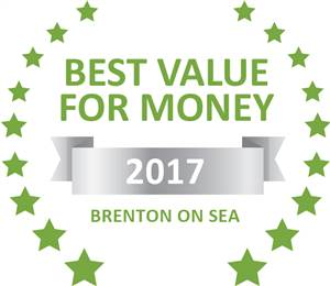 Sleeping-OUT's Guest Satisfaction Award. Based on reviews of establishments in Brenton on Sea, Blue Dolphin Guest Apartment  has been voted Best Value for Money in Brenton on Sea for 2017