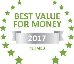 Sleeping-OUT's Guest Satisfaction Award. Based on reviews of establishments in Tsumeb , Tsumeb Backpackers has been voted Best Value for Money in Tsumeb  for 2017