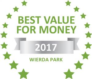 Sleeping-OUT's Guest Satisfaction Award. Based on reviews of establishments in Wierda Park, SunRay has been voted Best Value for Money in Wierda Park for 2017