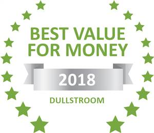Sleeping-OUT's Guest Satisfaction Award. Based on reviews of establishments in Dullstroom, Valley of the Rainbow has been voted Best Value for Money in Dullstroom for 2018
